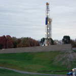 Utica shale gas well