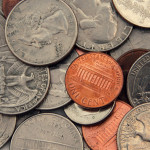 photo of american coins